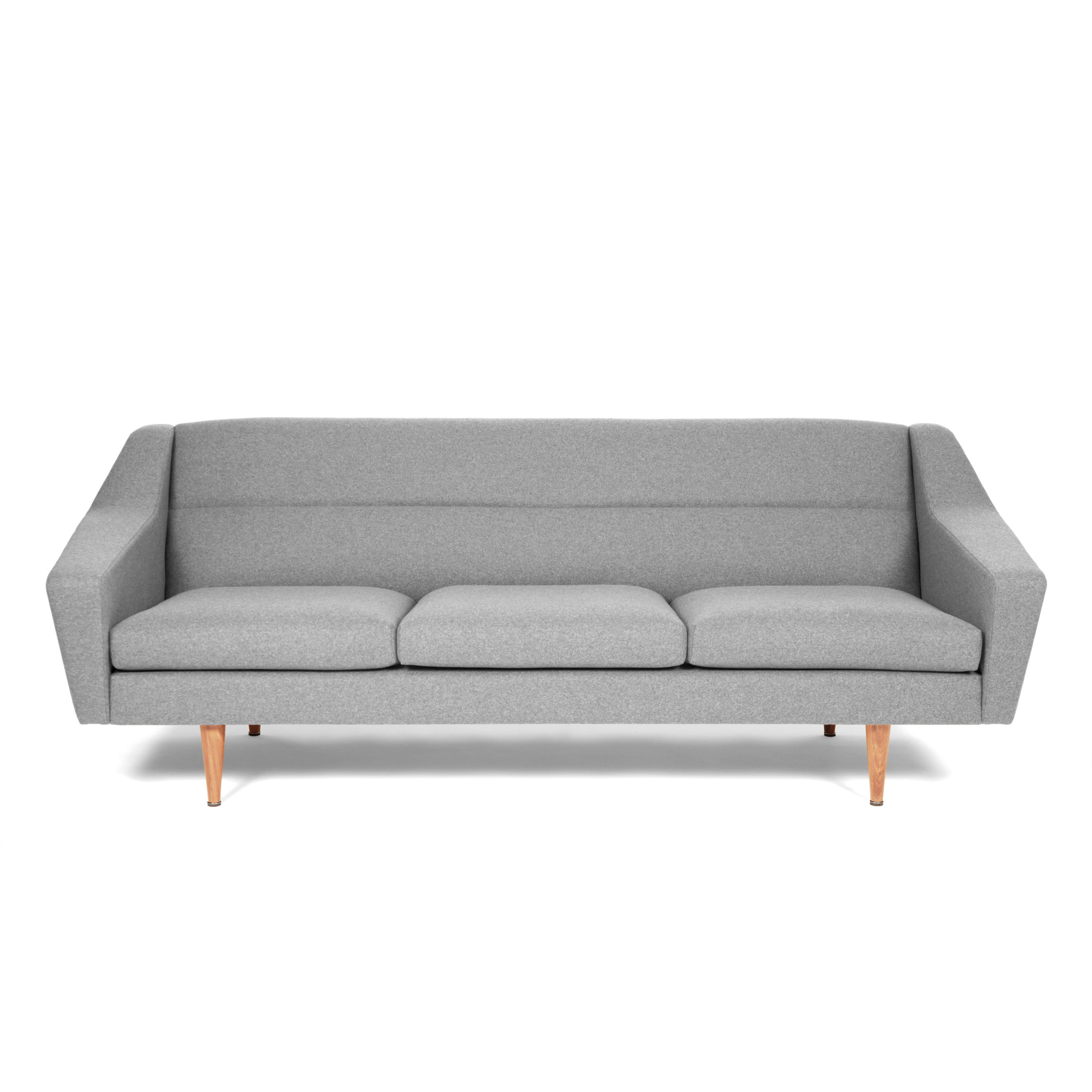 3er-Sofa im Retro-Look