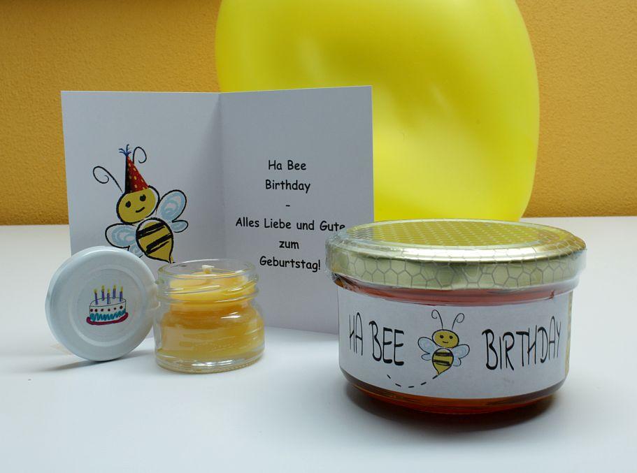 Ha Bee Birthday - das ganz besondere Geburtstagsgeschenk