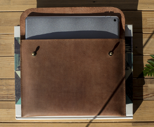Macbook Ledertasche