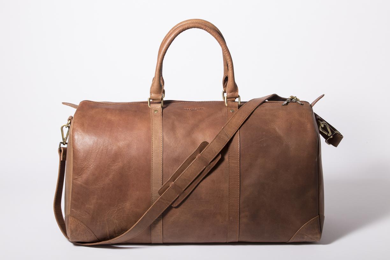 Weekender Reisetasche No 8 aus Leder Katalog