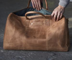 Weekender Reisetasche aus Leder kaufen