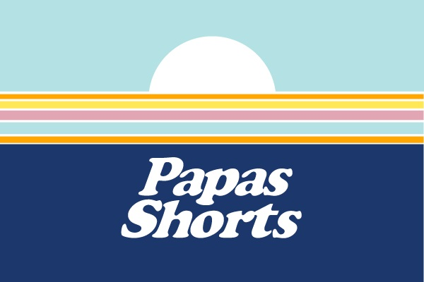 Logo Papas Shorts
