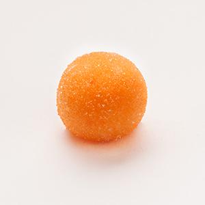 Orangenmarzipankugel
