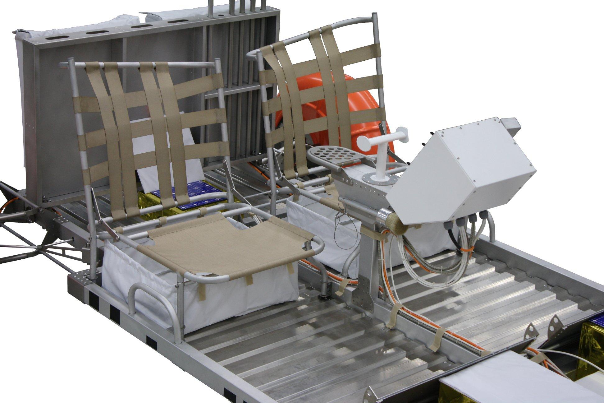 Lunar Roving Vehicle Exponat von Clive Ward
