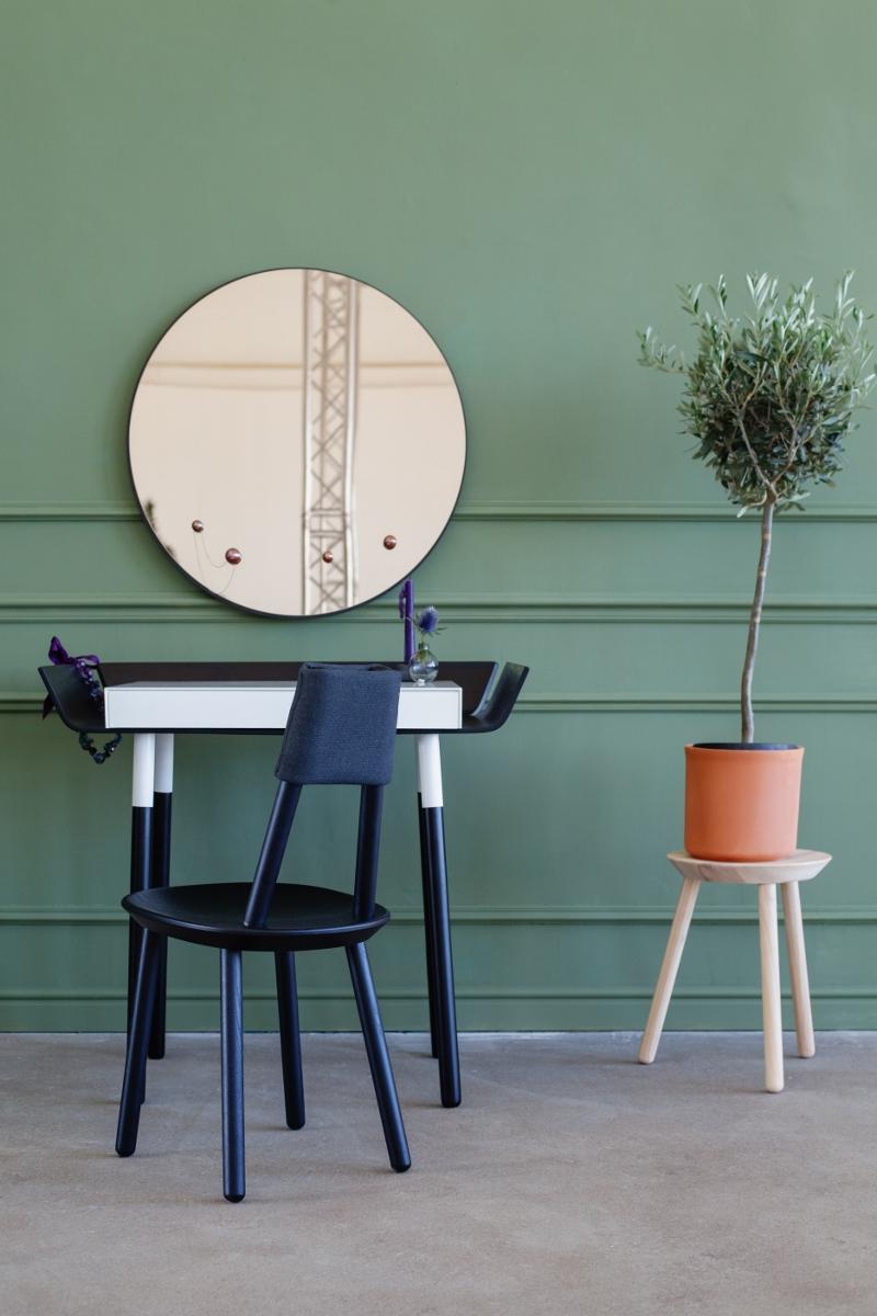 Gästezimmer einrichten Spiegel Schminktisch Design