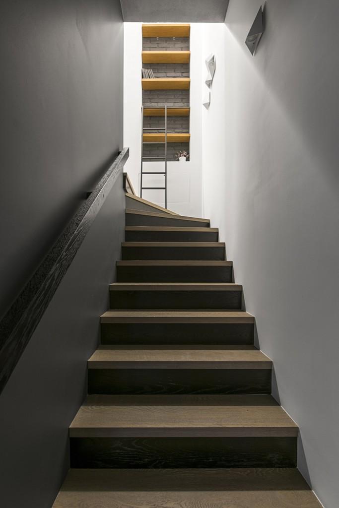 Treppe Stauraum Einrichtungsideen