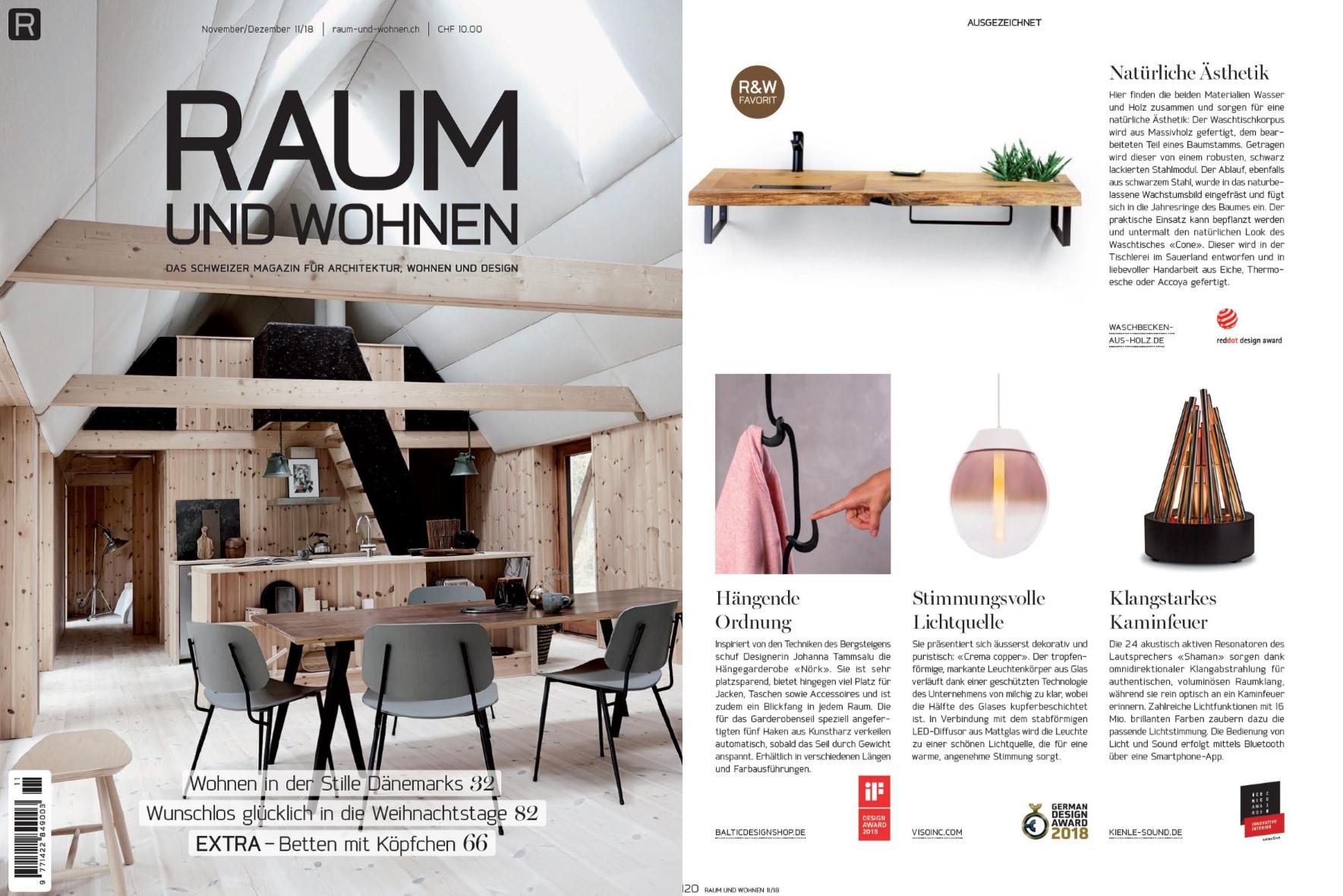 Veröffentlichungen In Wohnmagazinen