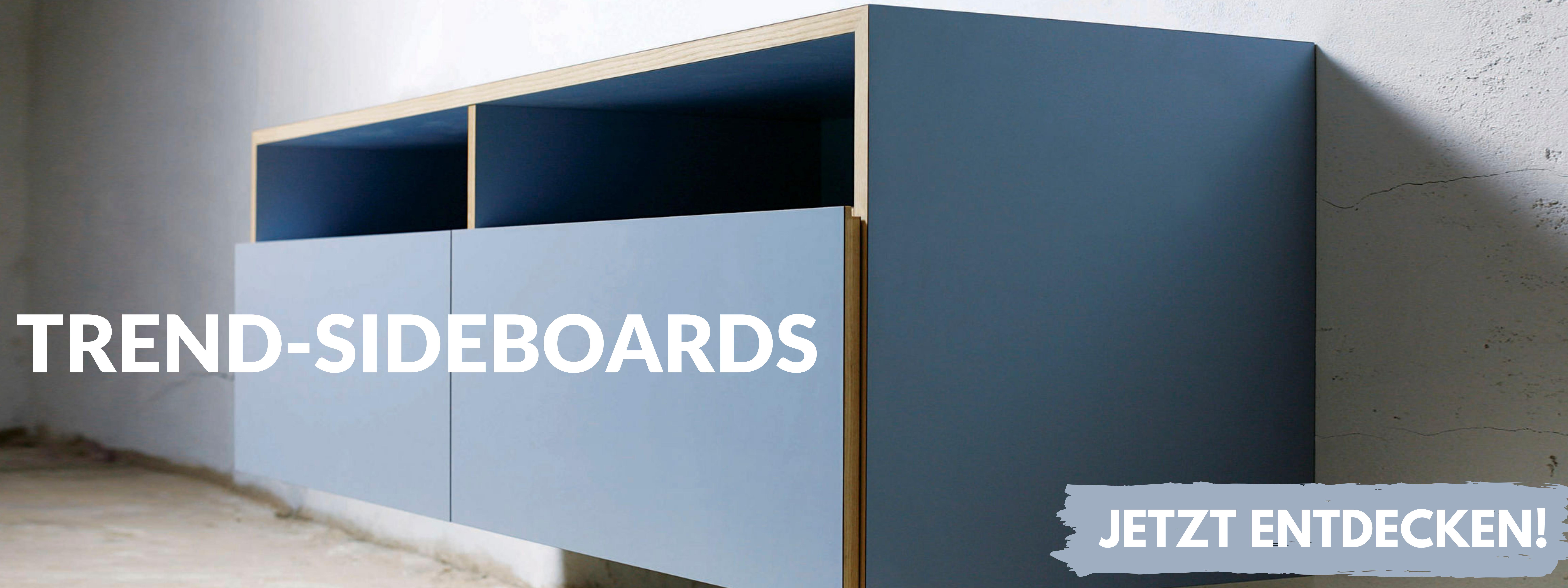Side-Boards aus Holz schlicht, modern und stylish