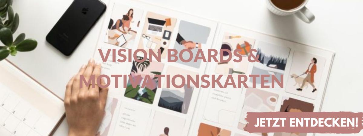 Vision Boards & Motivationskarten online kaufen
