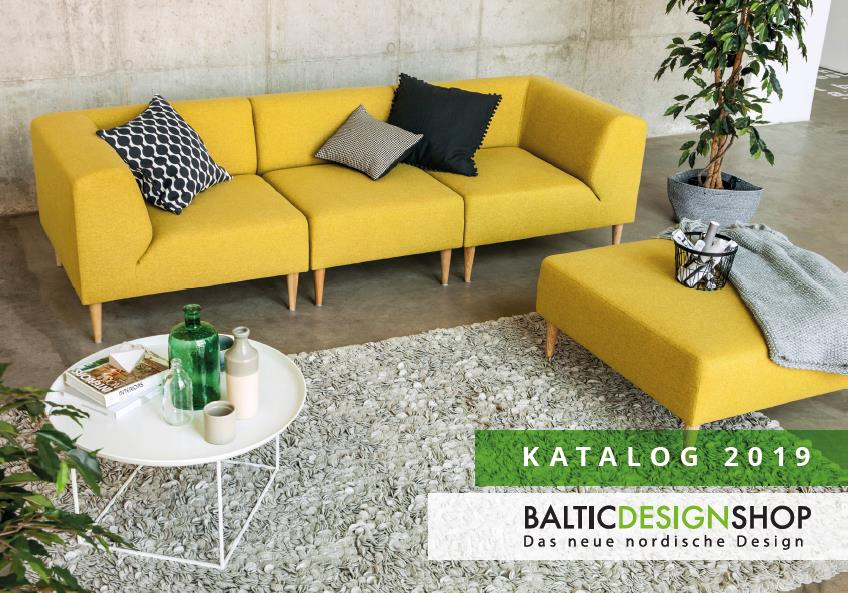 Katalog Baltic Design Shop 2019