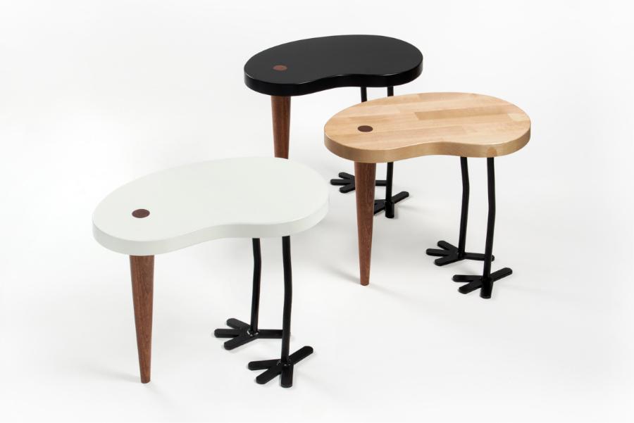 Hocker-Beistelltisch TIBU Maria Rästa Design