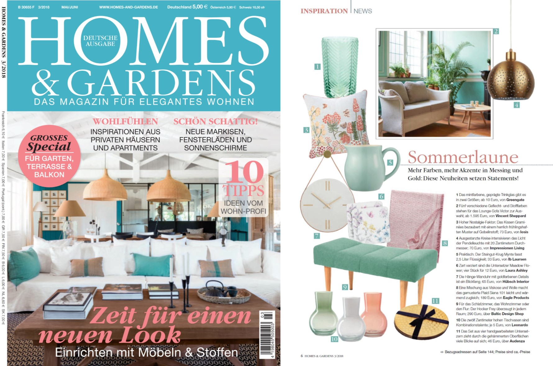 Baltic Design Shop bei Homes & Gardens