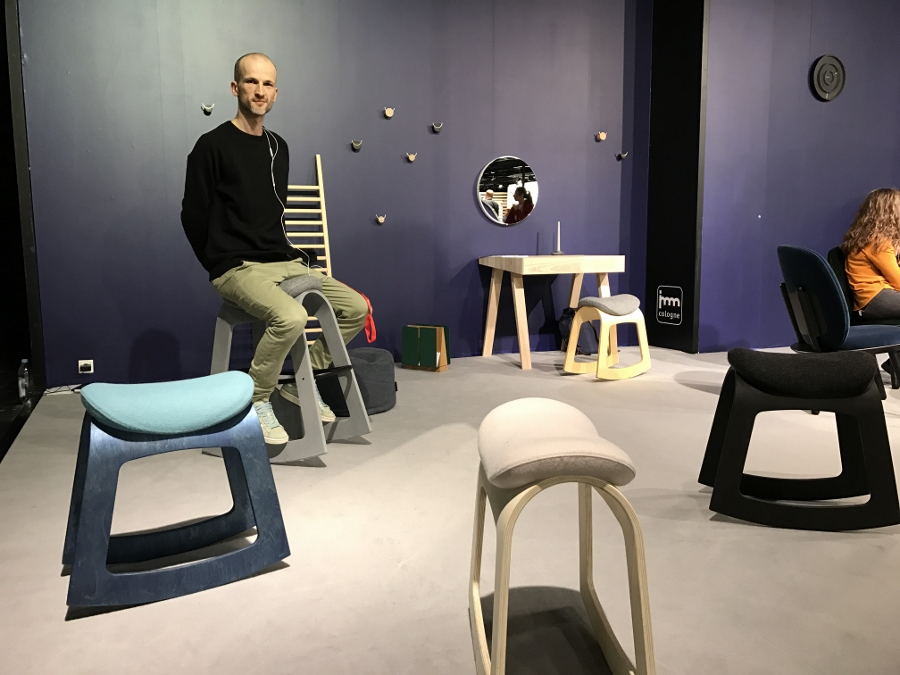 Muista Chair @ imm Cologne 2019