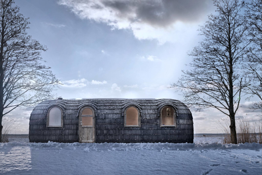 Iglu Tiny House Estland