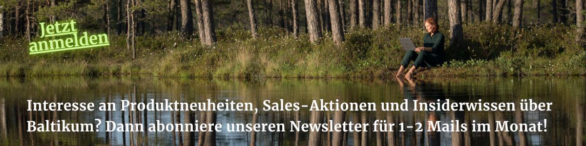 Anmeldung Newsletter Baltic Design Shop