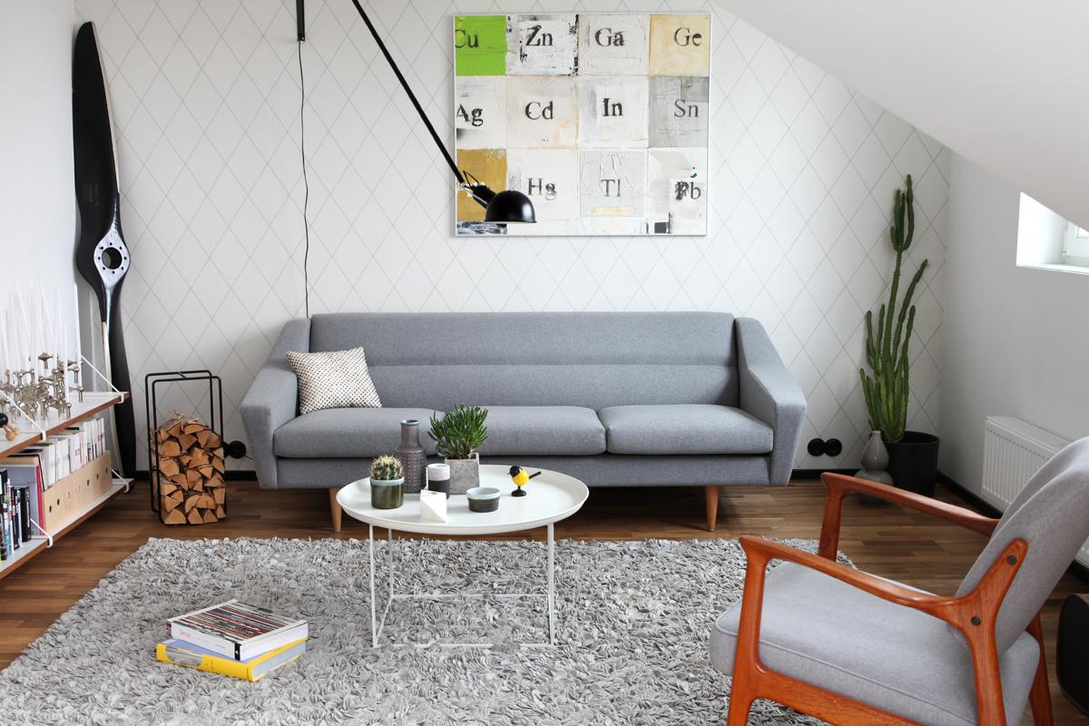 Wohnzimmer & Schlafzimmer skandinavisch einrichten - so geht´s!