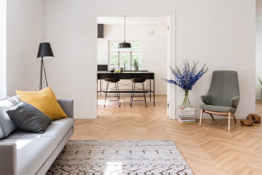 Wohnzimmer schlafzimmer skandinavisch einrichten so for Skandinavisch wohnen