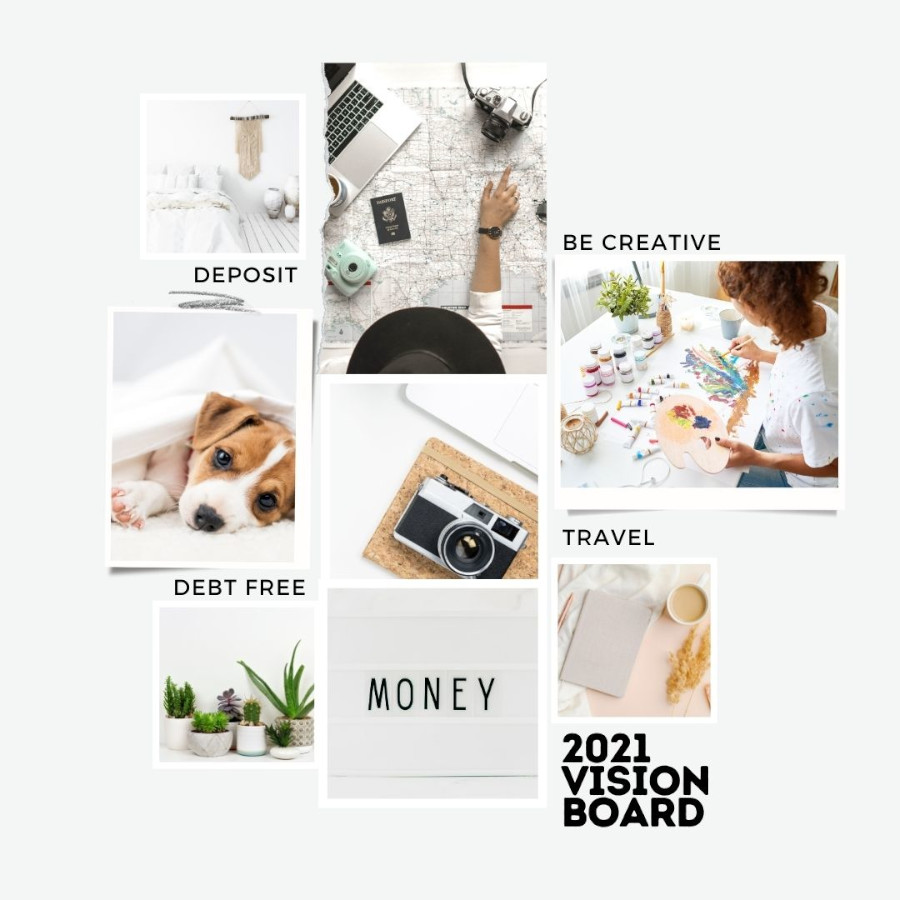 Beispiele Vision Boards - How To