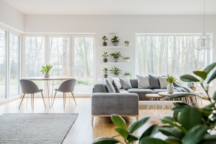 Wohnzimmer nachhaltig einrichten