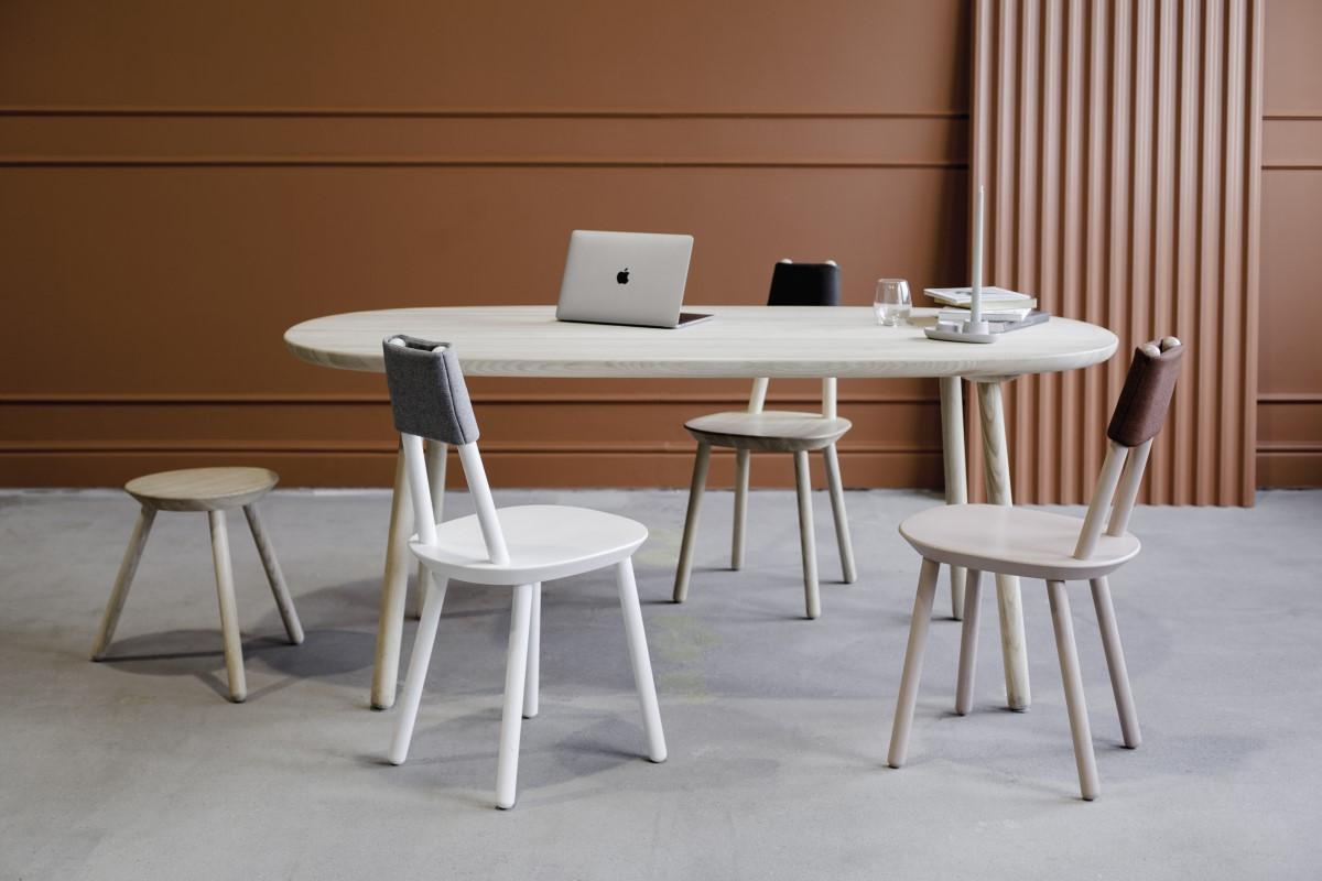 Esstisch massivholz rund Design kaufen
