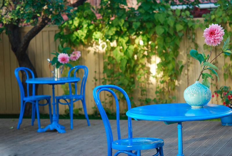 Cafe einrichten Terrasse
