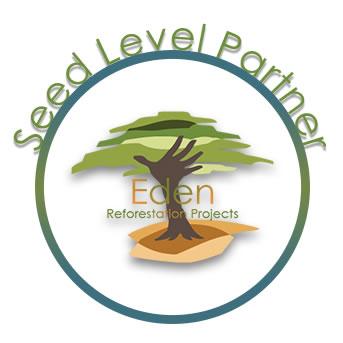Jede Bestellung = 1 Baum: dabelino ist Partner der Baumpflanz-NGO Eden Reforestation Projects