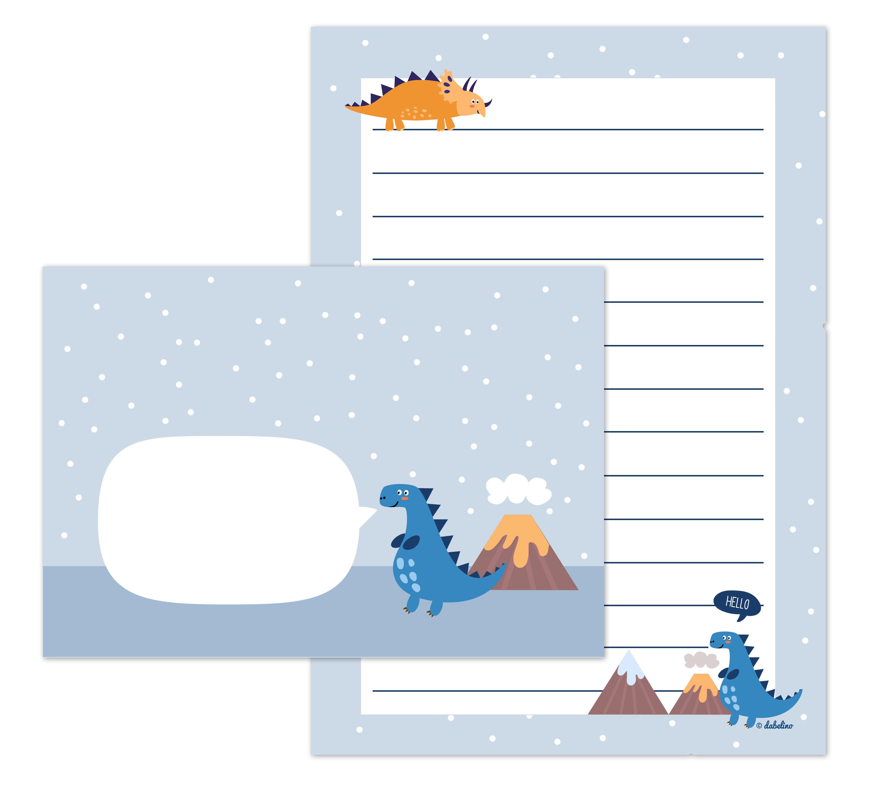 dinosaurier_briefpapier_kinder_jungen_liniert_mit_linien_schreibanfaenger_geschenk_einschulung_schultuete_dabelino_01a.jpg