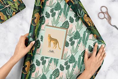 Die ersten mit dem V-Label als vegan gekennzeichneten Geschenkpapier und Grußkarten kommen von dabelino
