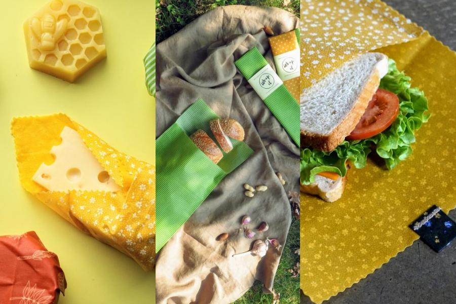 Nachhaltige Werbegeschenke - Bienenwachstücher gebranded