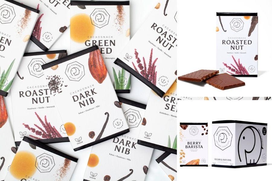 Süße Geschenke für Mitarbeiter: gesunde Schokolade für Homeoffice und Büro
