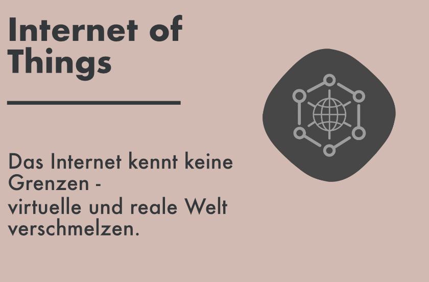 Internet of Things als neuer Trend der Zukunft