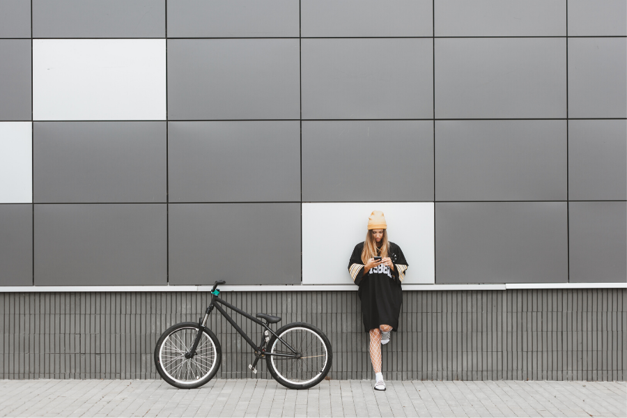 Fahrradfahren ist gesund und praktisch