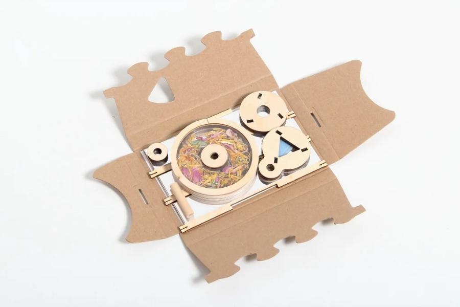 DIY Spiele Ideen Teamevents - Kaleidoskop Flowerscope