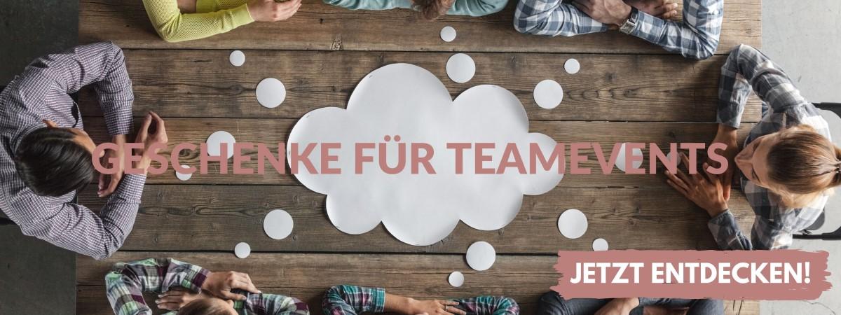 Geschenke Ideen für Teamevents finden
