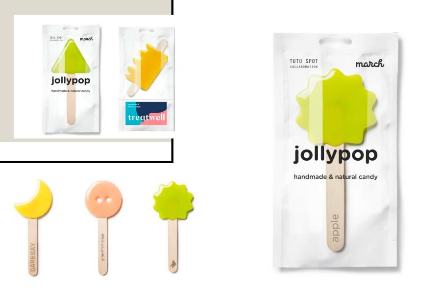 Übergroße Lollipops als Kundengeschenk