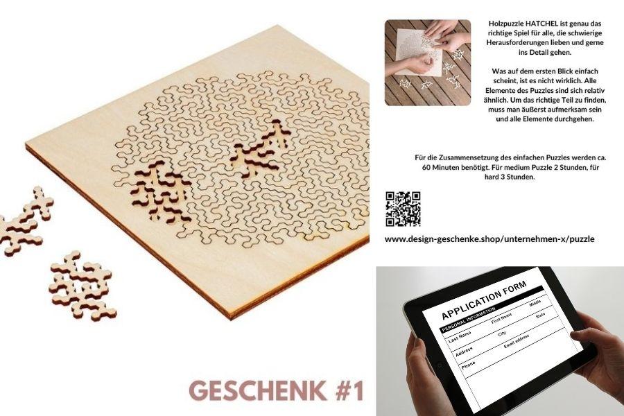 Mitarbeiter Gutschein Design Geschenke