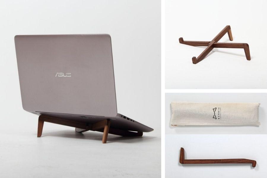 Laptop-Halterung Laptop Legs Top Mitarbeitergeschenk Corona & Homeoffice