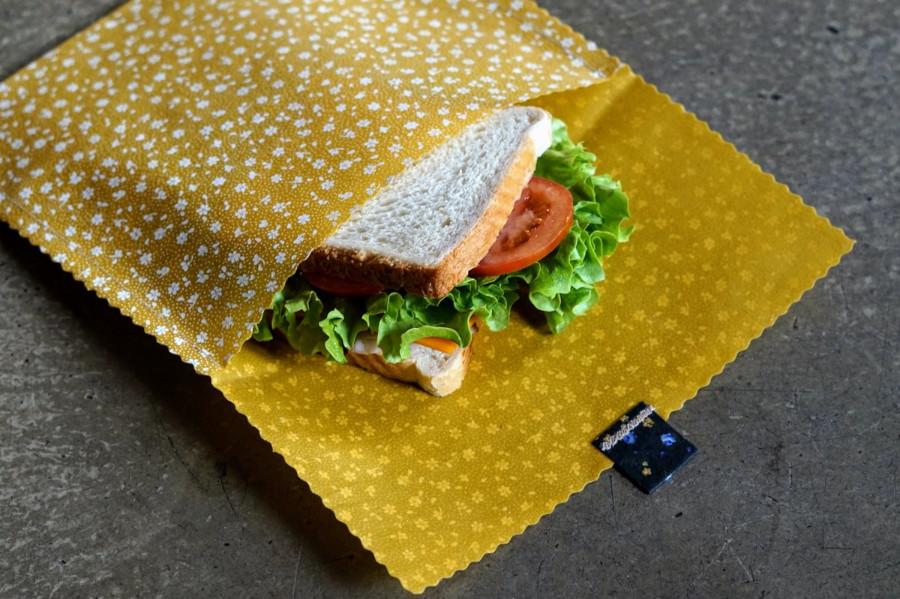 Bienenwachstücher Snack Bag für unterwegs