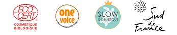 Vegane und zertifizierte Naturkosmetik aus Provence mit Ecocert-Zertifikat und One Voice | Kostenlose Lieferung in Deutschland ab 60,00 € | Naturkosmetik im Onlineshop von Arômes de Provence bestellen.