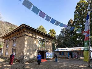 Kloster Khiraule vor der Restaurierung - 2020