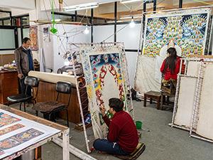 Karsang Lama Werkstatt in Kathmandu, Nepal