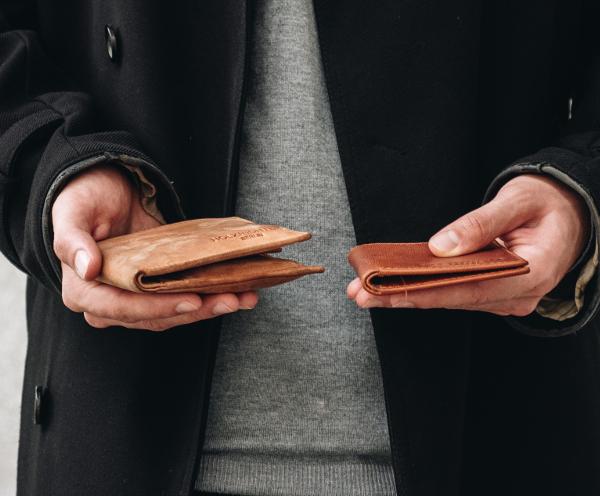 Leather Wallet Slim