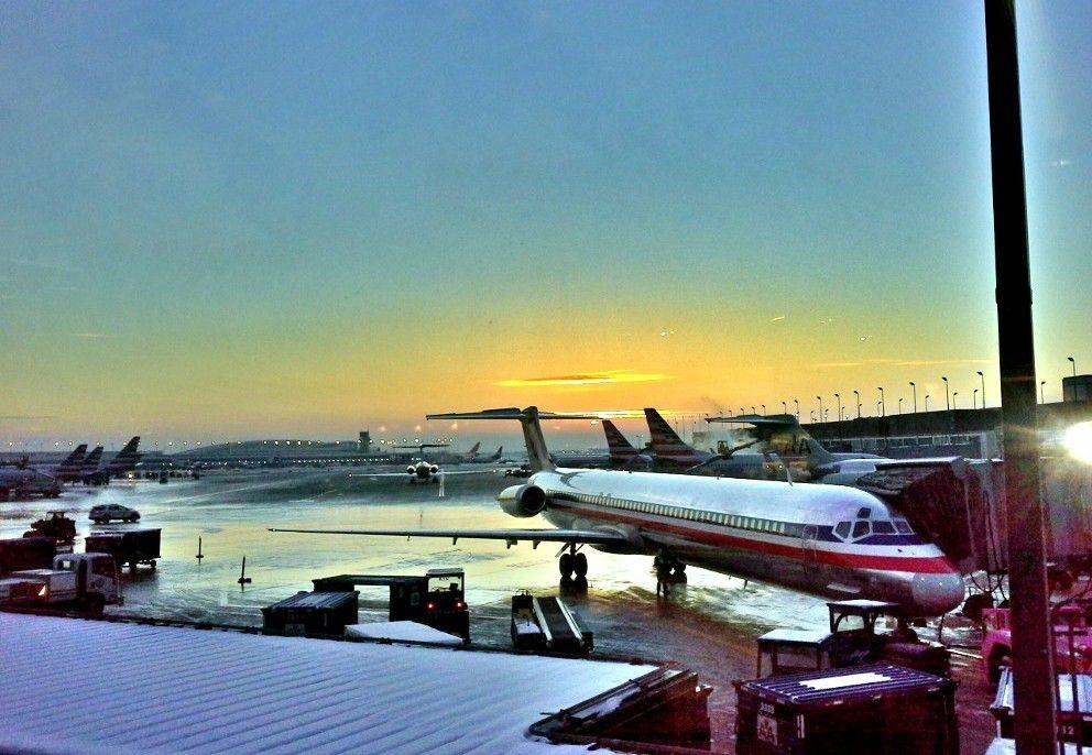 Flughafen Reise Inspiration