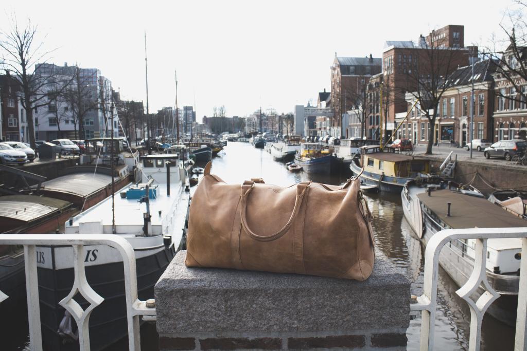 Reisetasche von Holzrichter in Holland