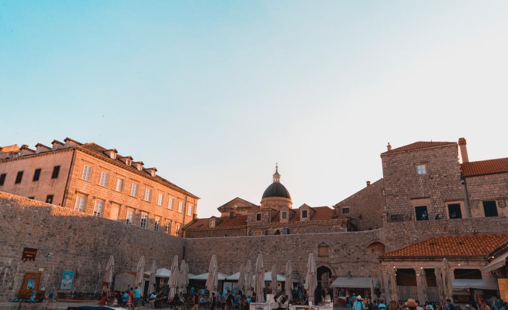 Kroatien retro Bild