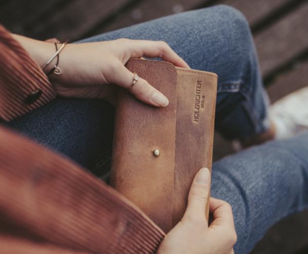 Leder Portemonnaie für Damen kaufen