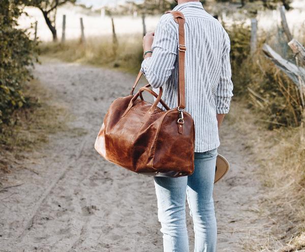 Reisetasche Leder