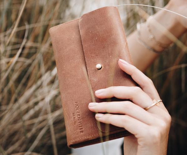 Damen Portemonnaie aus Leder