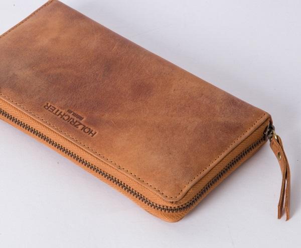 Klassisches Damen Portemonnaie aus Leder