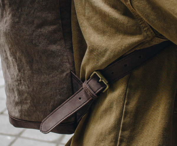 Ultrarobustes Canvas Rucksack